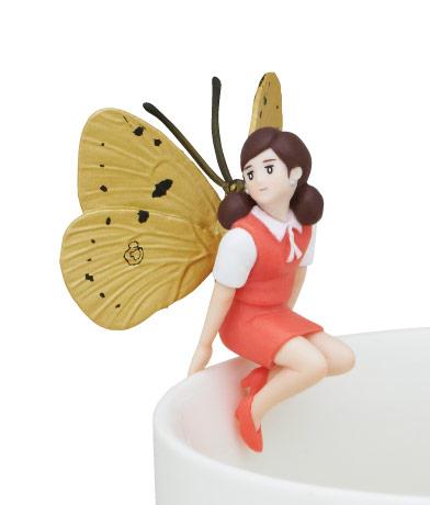 蝶のフチ子