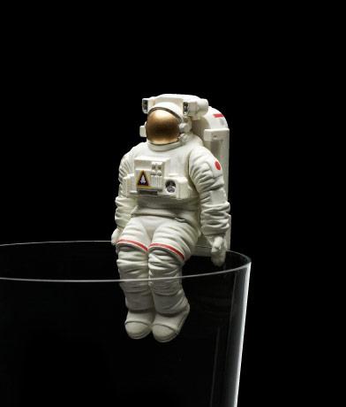 座り宇宙飛行士