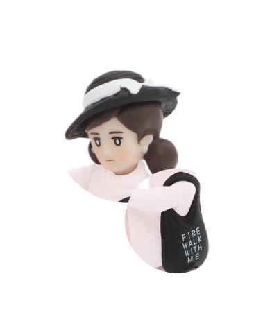 キャベリン帽(ブラック)&トートバッグ(ブラック)