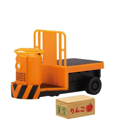 オレンジ(Uターンタイプ) +ダンボール(りんご)