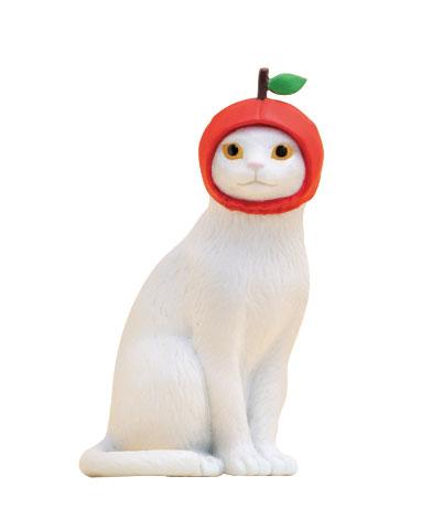 ねこフルーツちゃん(りんご)