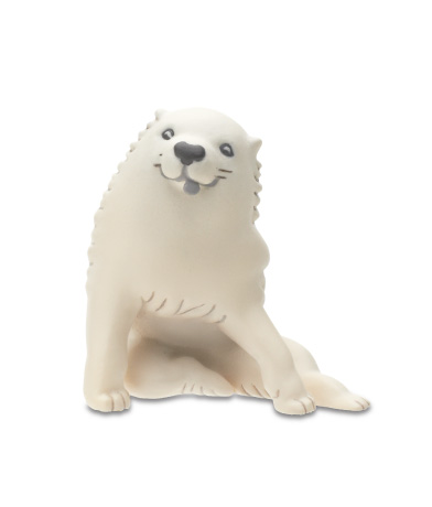 子犬(「白象黒牛図屏風」より)