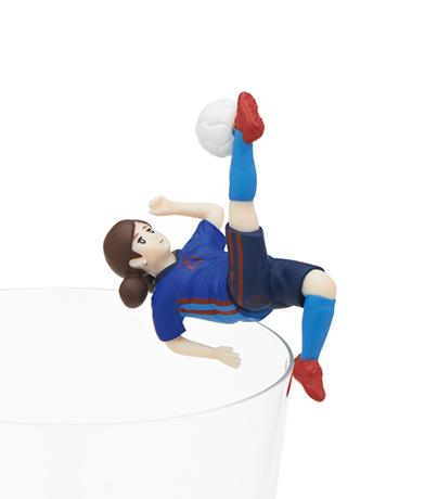 サッカーのフチ子
